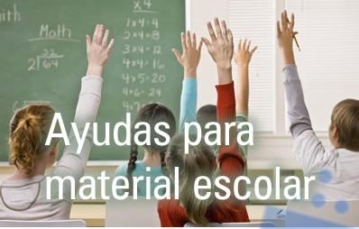 ayudas material escolar